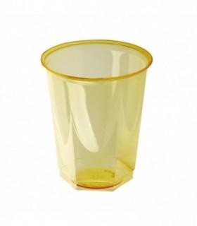 Vaso glass ps amarillo 25 cl