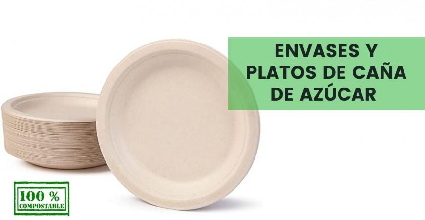 ENVASES Y PLATOS DE CAÑA DE AZÚCAR: TODO LO QUE DEBES SABER SOBRE ELLOS